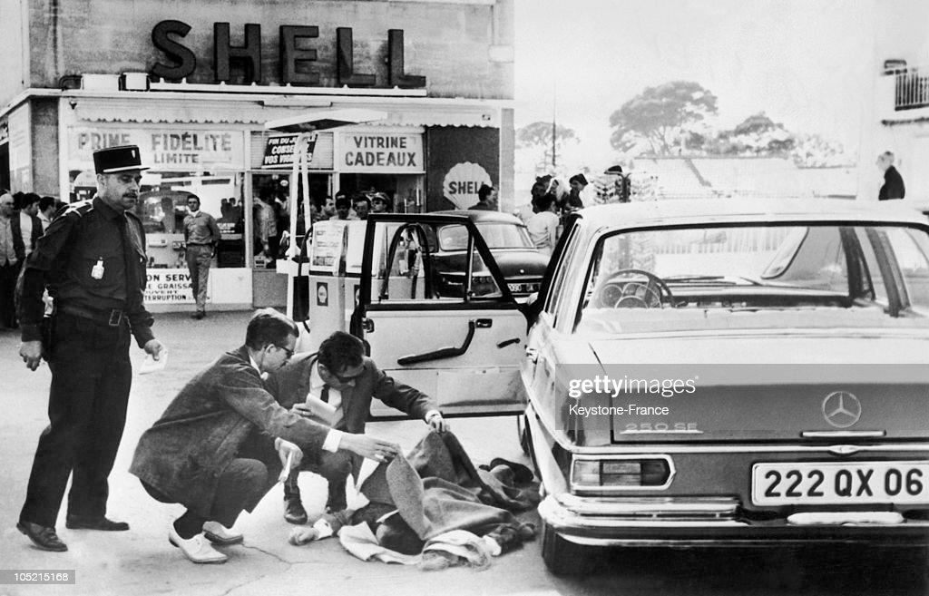 Antoine Guerini, Assassinated In Marseille 1967 : Nachrichtenfoto