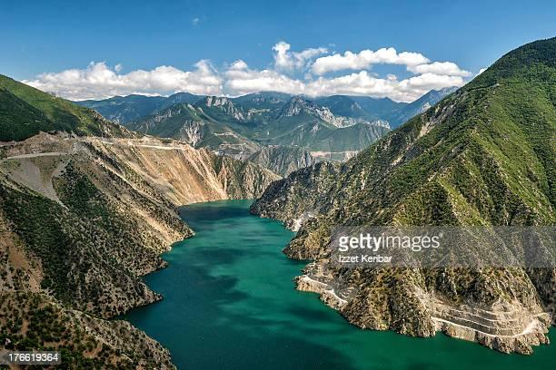 The Coruh valley in The Black sea Region of Turkey