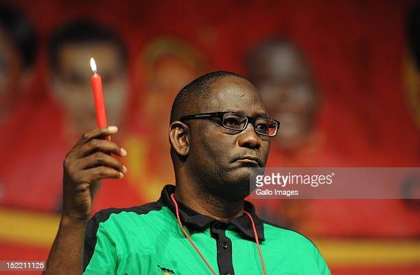 The Cosatu General Secretary attends the Cosatu's 11th National Conference at Gallagher Estate on September 17 2012 in Midrand South Africa Delegates...