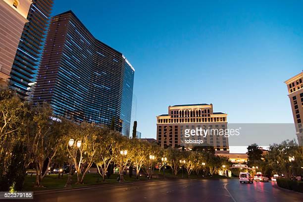 The Cosmopolitan at Las Vegas Strip during night
