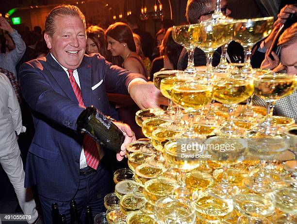 The Cosmopolitan of Las Vegas CEO John Unwin attends Conde Nast Traveler's 18th annual Hot List party at Rose Rabbit Lie at The Cosmopolitan of Las...