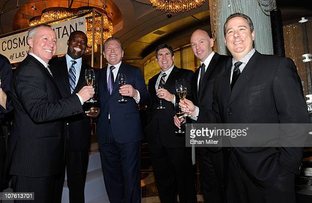 The Cosmopolitan of Las Vegas Vice President of Casino Operations John Zaremba, General Manager Arthur Keith, CEO John Unwin, General Counsel Anthony...