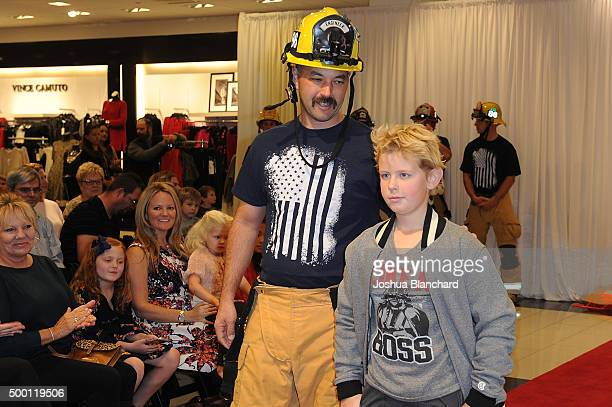 The Costa Mesa Firefighter Fashion Show for CHOC Children's Hospital on December 5 2015 in Costa Mesa California