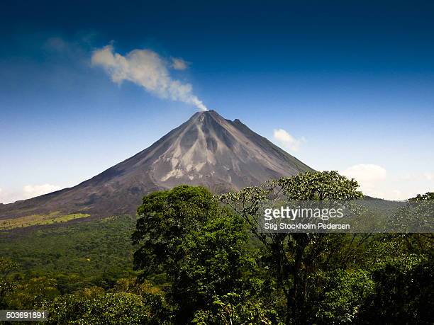 The Costa Rican volcano Arenal