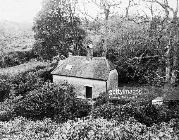 The cottage home known as Clouds Hill in Moreton Heath Dorset of British soldier adventurer and author TE Lawrence better known as Lawrence Of Arabia...