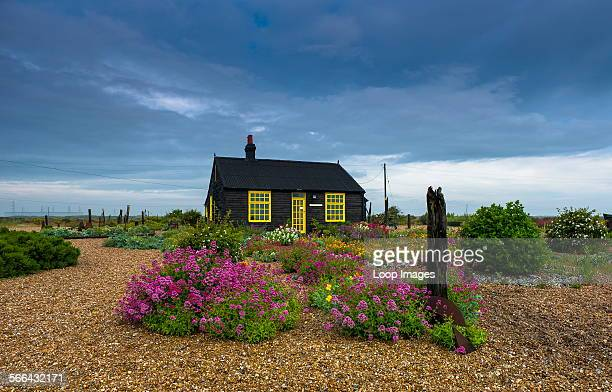 The cottage of the late Derek Jarman on Dungeness beach