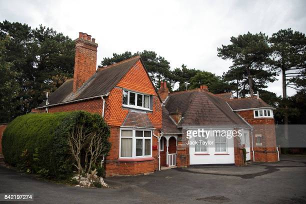The cottages in Bletchley Park where renowned codebreakers worked stand during an annual reunion event of World War II veterans who worked at...