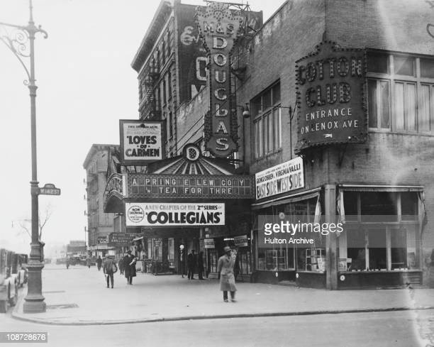 The Cotton Club at 142nd Street and Lenox Avenue in Harlem New York City circa 1927