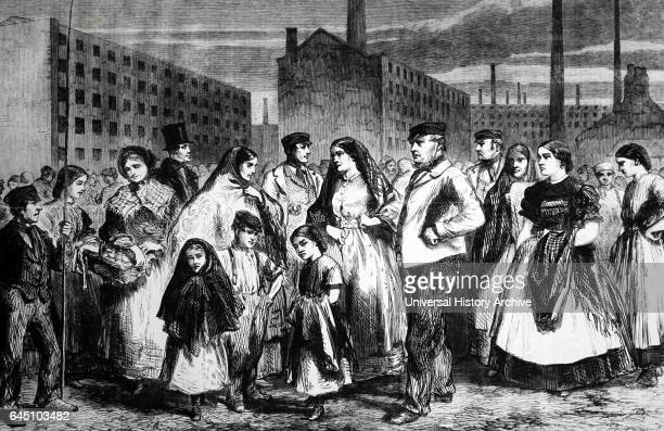 The Cotton Famine Mill operatives at the time of the famine