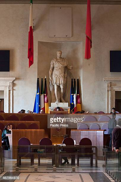 The council attends the votitation for 'Vote of the City Council of Rome on the approval of civil unions'