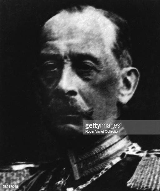 The count Alfred von Schlieffen German marshal author of the 'War against the France' where he explain the plan of the campaign which call like him...