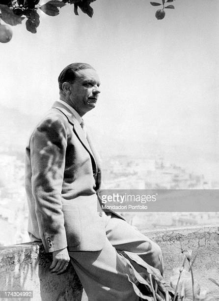 The count and industrialist Lamberto Bellentani the husband of Pia Bellentani who on the 15th September 1948 murdered her lover Carlo sacchi with a...