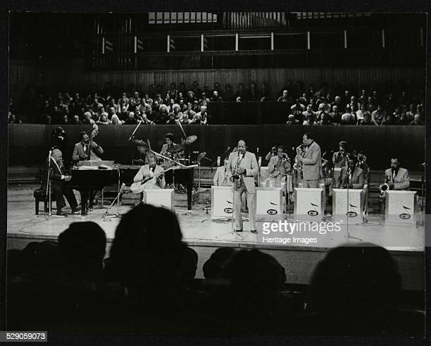 The Count Basie Orchestra performing at the Royal Festival Hall, London, 18 July 1980. Artist: Denis Williams .