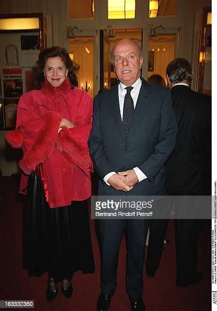The counte Jean De Rohan Chabot and the countess Joy De Rohan Chabot Fava gala in Paris