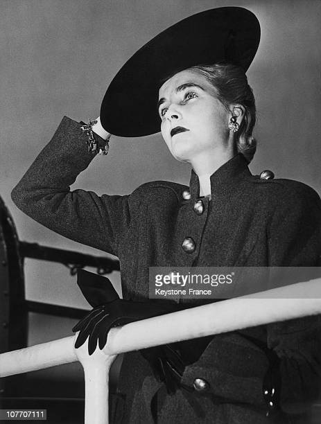 The Countess HaugwitzReventlow Most Known Of Barbara Hutton San Francisco California Usa On May 3Rd1940