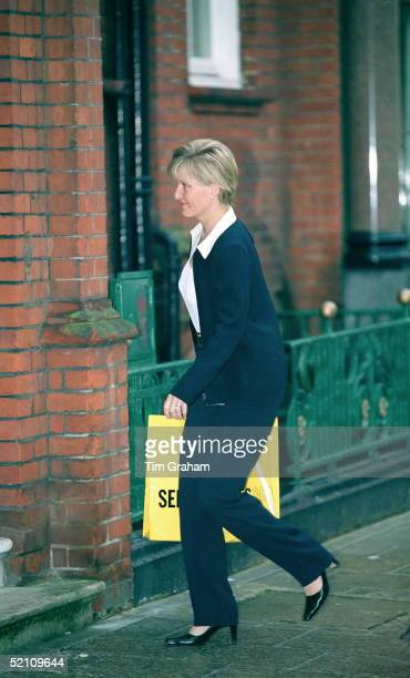 The Countess Of Wessex Arrives Outside Her Mayfair Office