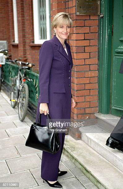 The Countess Of Wessex Arriving At Her Offices After Attending The Memorial Service For Jill Dando In London