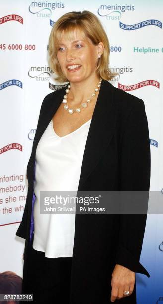 The Countess of Wessex at the launch of the Meningitis Trust's Support for Life Appeal held at the Institute of Directors in central London Six month...