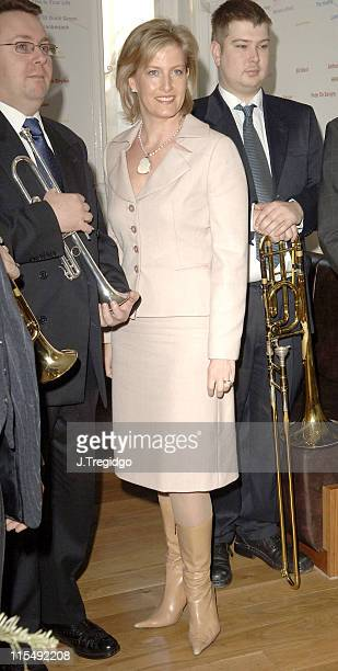 HRH The Countess Of Wessex at the launch of the RNID Breaking the Sound Barrier Campaign December 19 held at the BAFTA headquarters in Piccadilly...