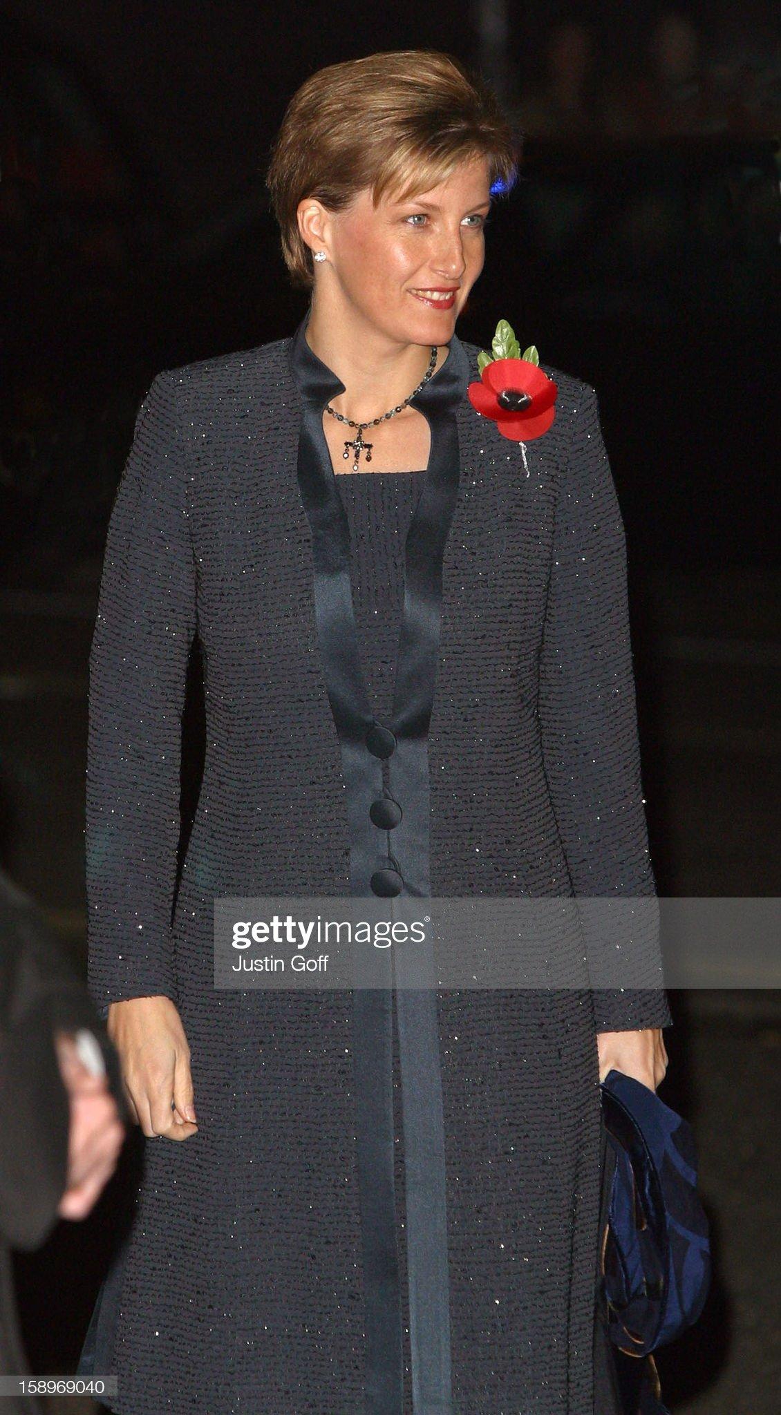 Royal British Legion Festival Of Remembrance Performance At London Royal Albert Hall. : News Photo
