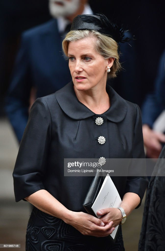 Countess Mountbatten of Burma's funeral : News Photo