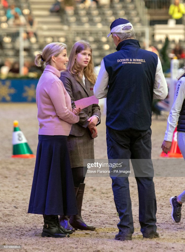 London International Horse Show - Day Five - London Olympia : News Photo