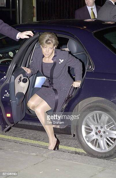 The Countess Of Wessex [sophie Rhysjones ] Arriving At Sadler's Wells Theatre In London For The Premiere Of The Northern Ballet Theatre's Production...