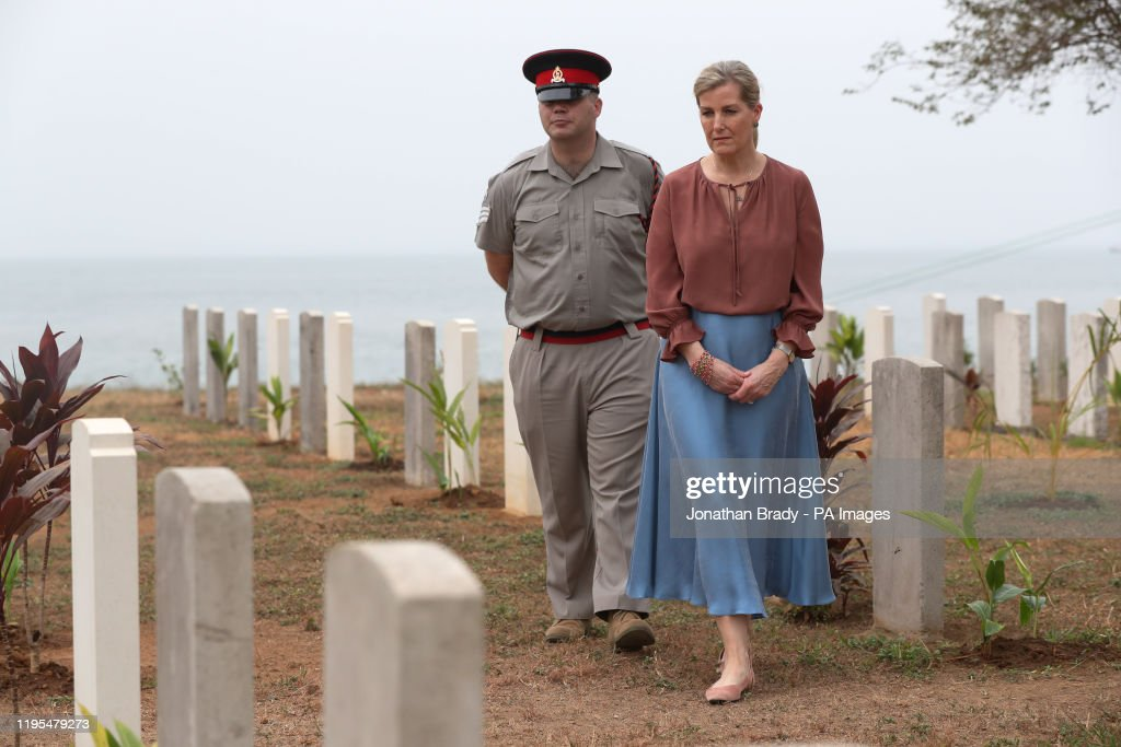 Royal visit to Sierra Leone - Day Two : News Photo