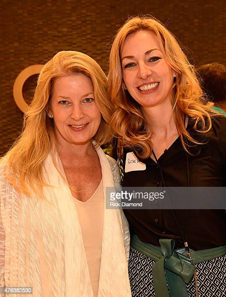 The Country Music Hall of Fame and Museum's Edie Emery and Lisa Purcell attend the 23rd Annual CAA BBQ at Creative Artists Agency's Nashville office...