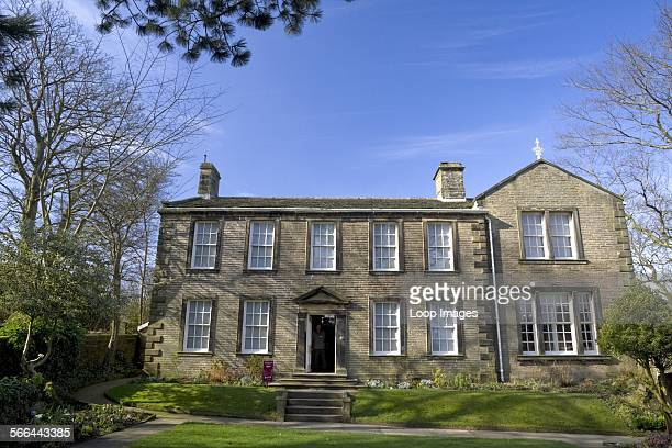 The country parsonage and home of the Bronte family in Haworth