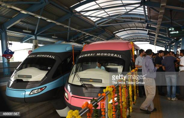 The country's first Monorail service was inaugurated on February 1 by Maharashtra Chief Minister Prithviraj Chavan