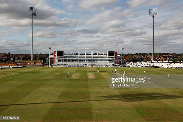 The County Ground during the LV County Championship division two match between Northamptonshire and Leicestershire at The County Ground on August 21...