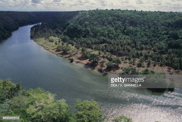 The course of Rio Chavon, Este National Park, Dominican Republic.