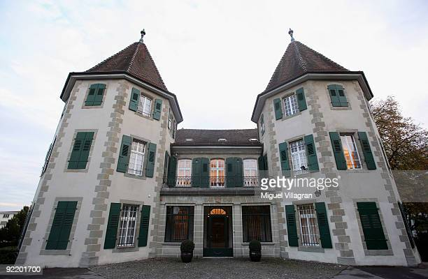 The court of arbitration for sport is pictured on October 22, 2009 in Lausanne, Switzerland. Claudia Pechstein's two-day hearing before the Court of...