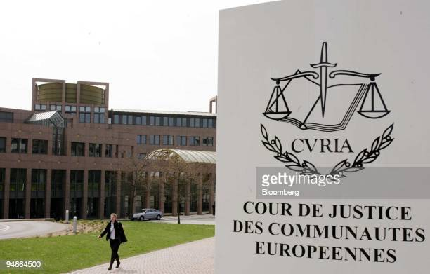The Court of Justice of the European Community prior to the Hearing in Case T-201/04, Microsoft v. Commission in Luxembourg, Luxembourg, Monday,...