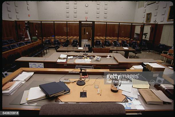 The courtroom used in the Jeffrey Dahmer trial stands empty in Milwaukee Dahmer stood trial for murdering and dismembering several 15 and was...