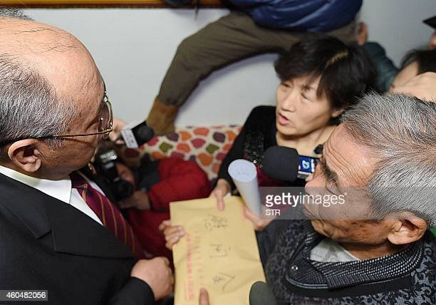 The court's deputy president meets with Hugjiltu's parents to apologize and offer compensation in Hohhot northern China's Inner Mongolia autonomous...
