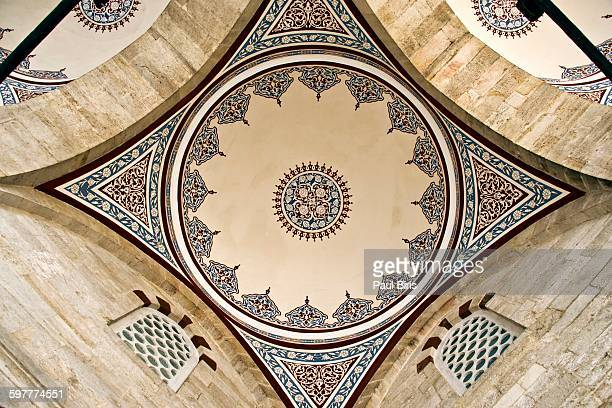 The courtyard dome of Yavuz Selim mosque, Istanbul