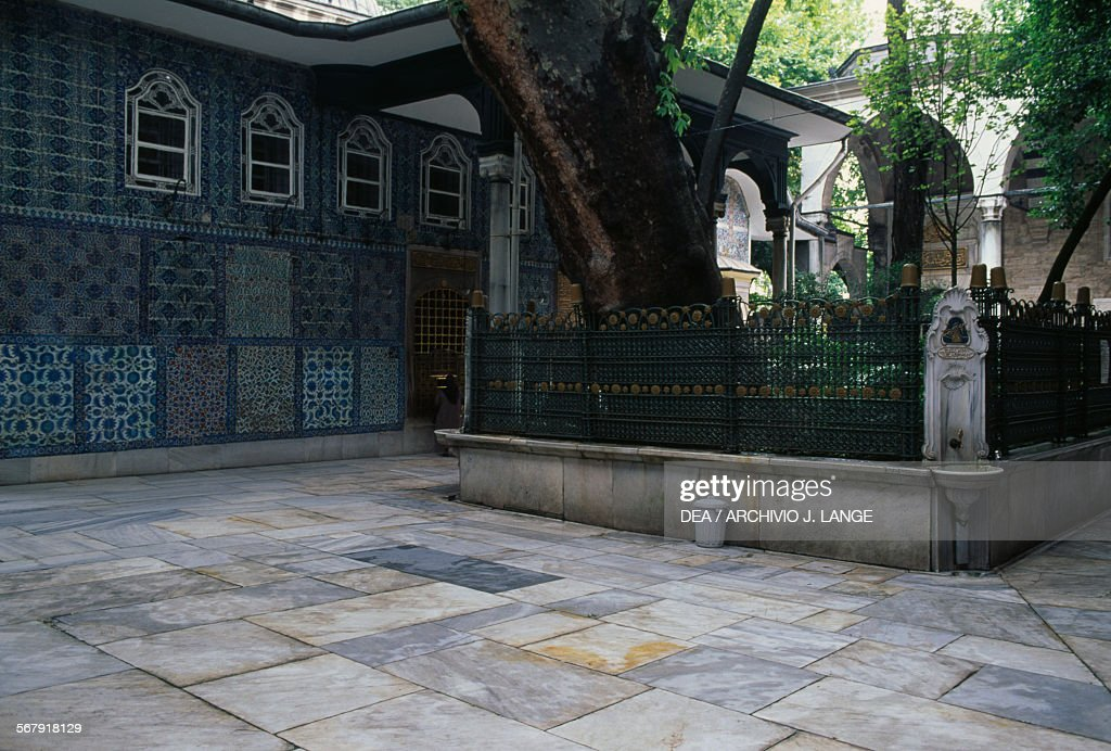Abu Ayyub al-Ansari's turbe, Istanbul : News Photo