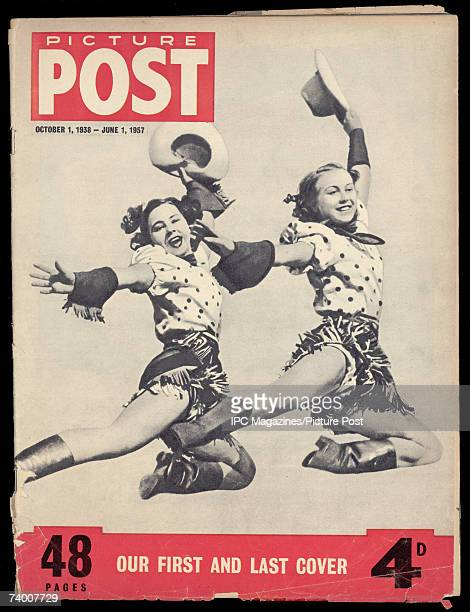 The cover of the final issue of Picture Post magazine 1st June 1957 which uses the same image as the first issue