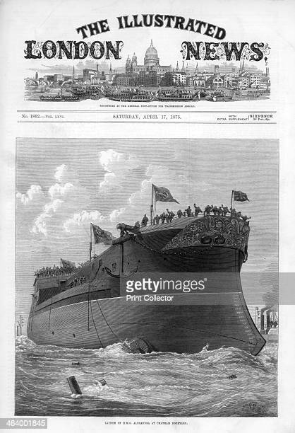 The cover of The Illustrated London News 17th April 1875 Commissioned in 1877 the 'Alexandra' was a broadside ironclad battleship The development of...