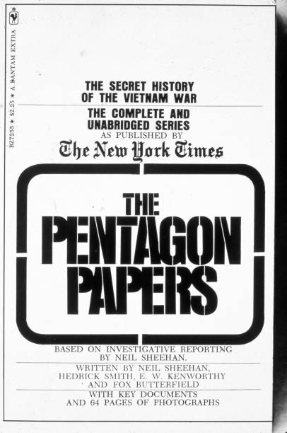 """USA: 13th June 1971: NY Times Begins Publishing """"The Pentagon Papers"""""""