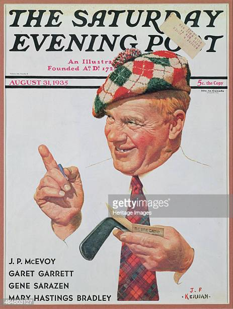 The cover of The Saturday Evening Post for August 31 1935