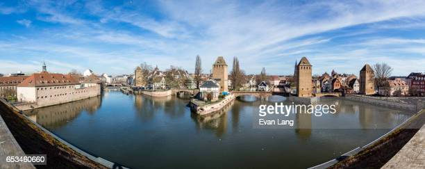 The Covered Bridges Panorama - Stasbourg