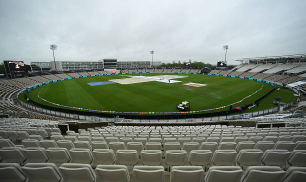 GBR: India v New Zealand - ICC World Test Championship Final: Day 1
