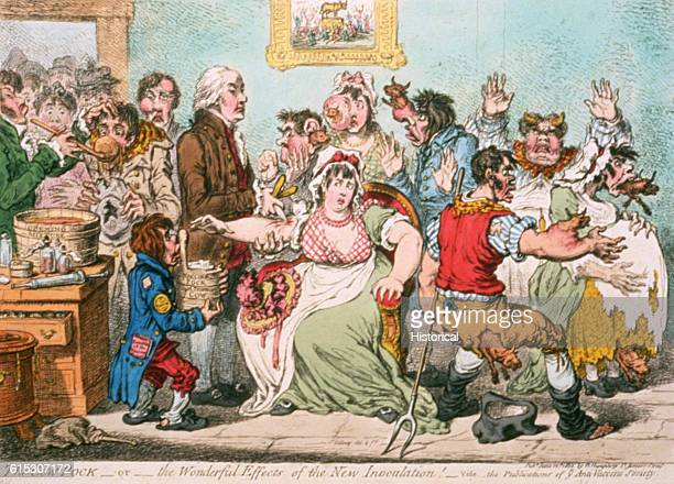 The Cow Pock by James Gillray