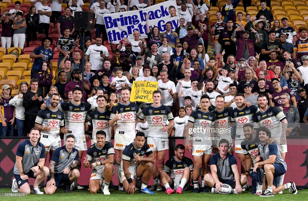 NRL Rd 20 - Broncos v Cowboys : News Photo