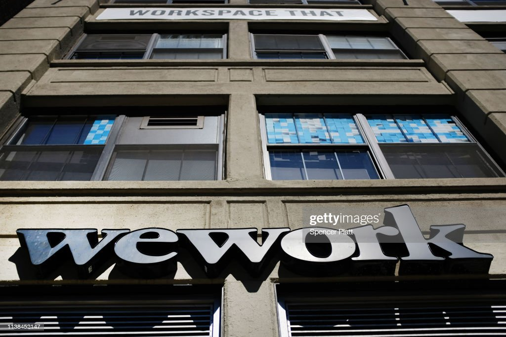 Rapid Global Expansion Causes WeWork's  Losses To Double : News Photo