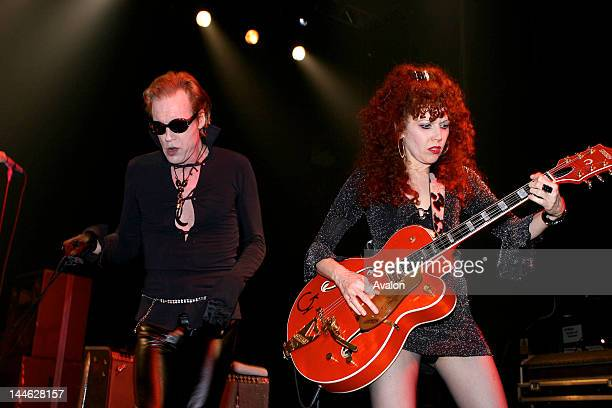 The Cramps Legendary rockabilly/ psychobilly/ punk band from New York celebrating their 30th birthday by touring in Londond Astoria 15 August 2006...