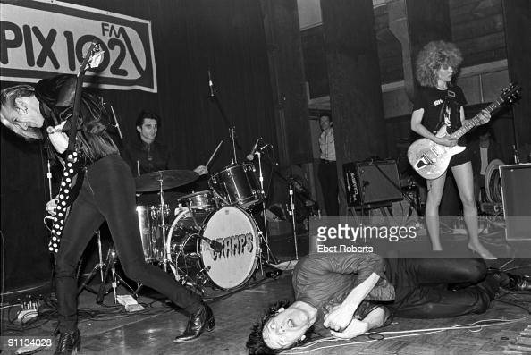 The Cramps Perform Live On Stage At Club 57  New York On